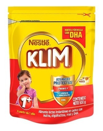 Alimento Lacteo Klim 1+ Fortiprotect X500 Gr