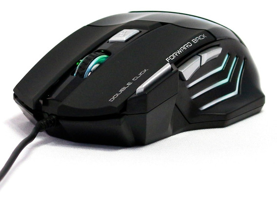 Mouse Laser Gamer Usb 2400 Dpi Pc Profissional Precisão T18