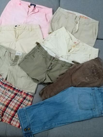 Oferta 9 Shorts Dama De Marcas Originales Talla 4 Y 6