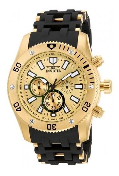 Relógio Invicta Caixa Em Ouro 18k - Original