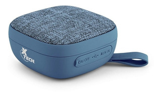 Parlante Xtech Portátil C/bluetooth Azul Xts-600bl