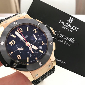 Hublot Big Bang Ouro Rosé 44mm - Impecável Completo