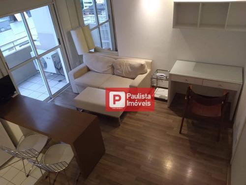 Apartamento Com 1 Dormitório À Venda, 50 M² - Itaim Bibi - São Paulo/sp - Ap32292