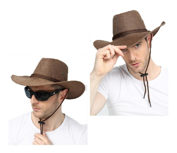 Sombrero Vaquero Texano Llanero Norteño Hombre Mujer Sol