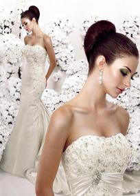 Vestido De Noiva - Off-white - 42 - Pronta Entrega - Vn00116