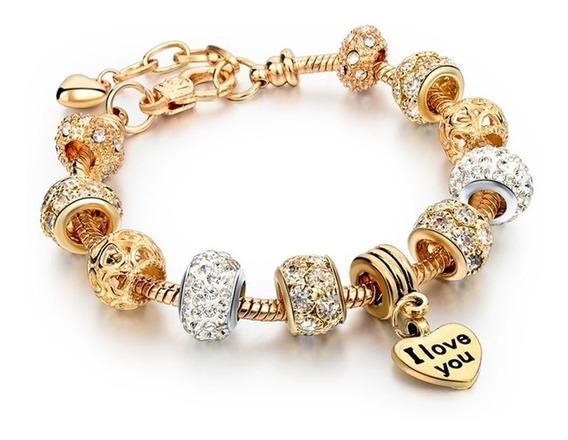 Pulseira Bracelete Pandora Berloque Frete Grátis