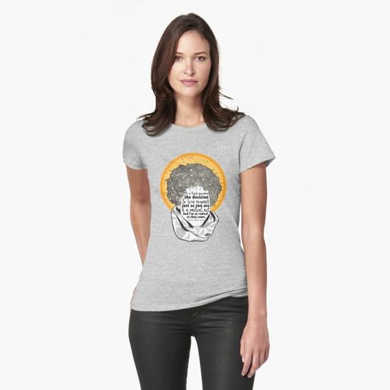 Camiseta Camisa Eu Amo Meu Cabelo Black Power Cacheado Mulheres Empoderadas Beleza Negra Amar Amor Próprio Auto Feminino