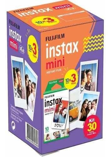 Filme Instax Mini Fujifilm Pack Com 30 Poses/fotos