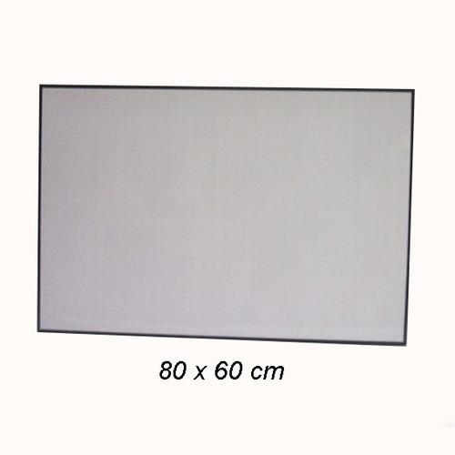 Imagen 1 de 1 de Tablero Acrílico Borrable 80 X 60  Mediano  Ref 4200