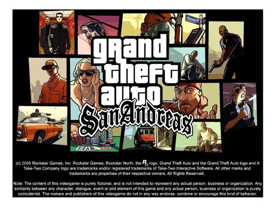 Grand Theft Auto Gta San Andreas Legendado Em Português Pc