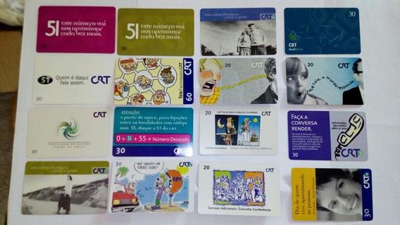 Cartões Crt/ Brasiltelecom, Antigos, Sem Créditos.