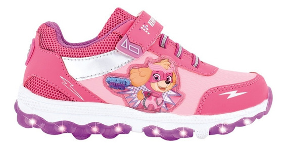 Zapatillas Con Luces Paw Patrol Footy Multiluces Mundomanias