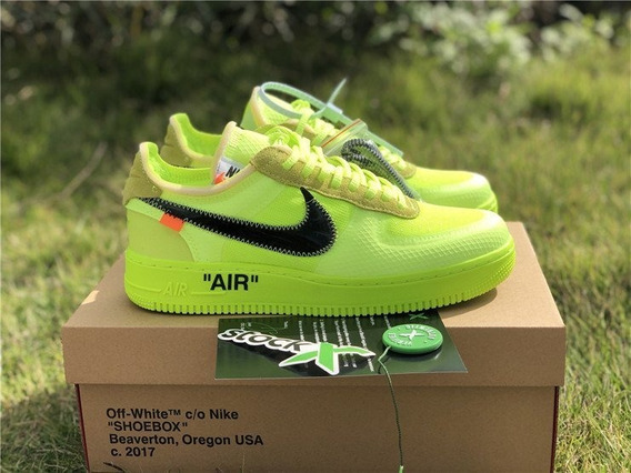 Tenis Air Force Off - White Volt