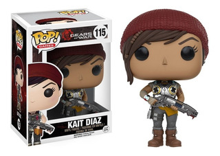 Funko Pop Kait Diaz 115 - Gears Of War Coleccionables
