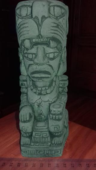 Totem Figura Del Dios Jaguar- Mexicana