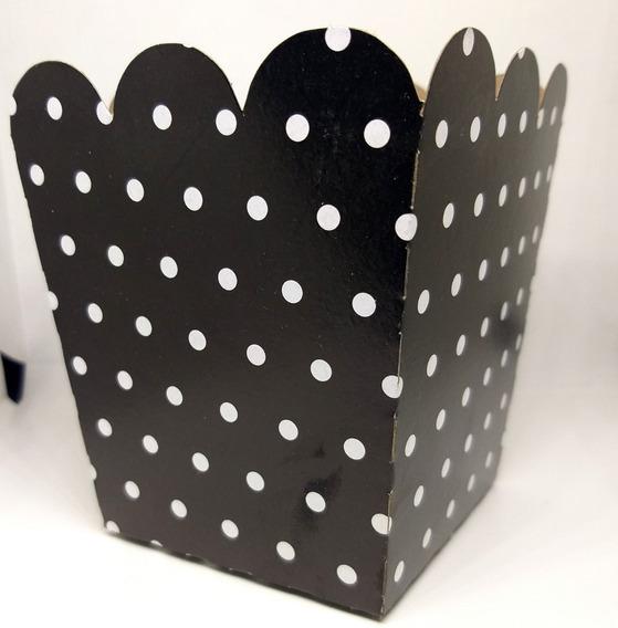 Caja Para Pochoclos A Lunar Pack X 10 Unidades