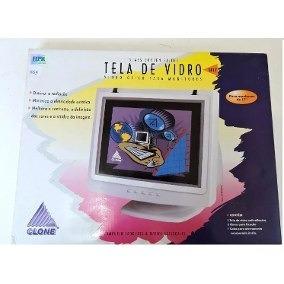 Tela De Vidro Para Monitor 14