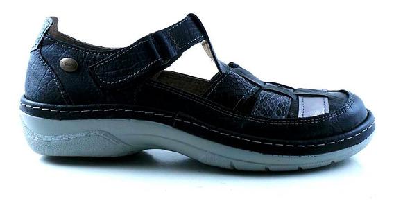 Zapatilla Urbana Cuero Briganti Mujer Zapato Goma Mczp05259