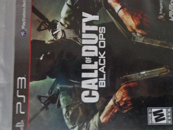 Call Of Duty Black Ops Ps3 Jogo Mídia Física $45