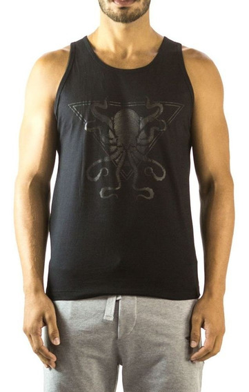 Regata Octopus Brohood Preto