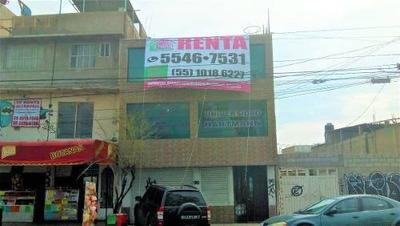 (crm-92-9233) Valle De Aragón 3ª. Sección Edificio Comercial En Renta Ecatepec Edome