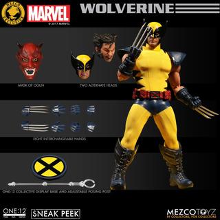 Wolverine Mezco One 12 Collective