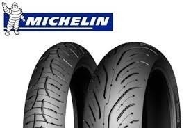 Combo Pneu Michelin Pilot Road 4  120/70-17 E 180/55-17