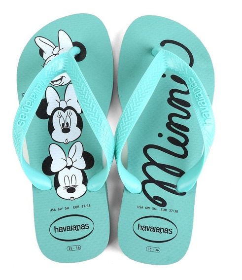 Havaianas Top Disney Chinelo Sandalia Femina