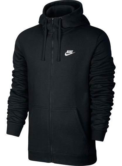 Jaqueta Masculina Nike Hoodie Fz Club Moletom 804389-010