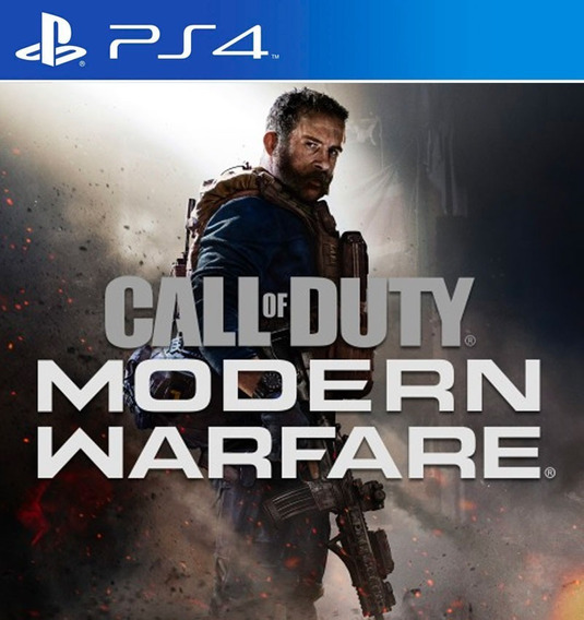 Call Of Duty Modern Warfare - Ps4 - Mídia Física