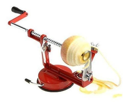 Maquina Descascador Fatiador Maça Pêra Batata Aço Inox
