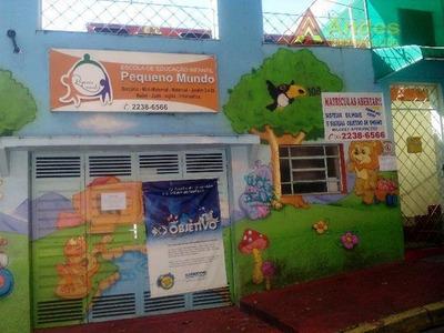 Ideal Para Escolinha,próximo A Rua Guacá - Ca0543
