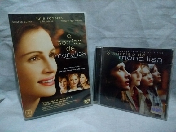 Dvd + Cd O Sorriso De Monalisa