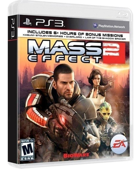 Mass Effect 2 - Midia Fisica Original E Lacrado - Ps3