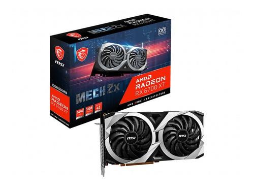 Placa De Video Msi Rx 6700 Xt Mech 2x 12gb Oc Radeon