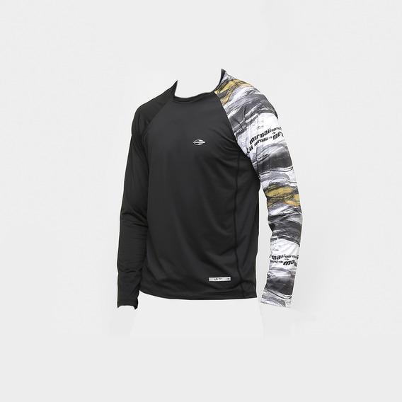 Camiseta M/longa Body Fit Sublimad