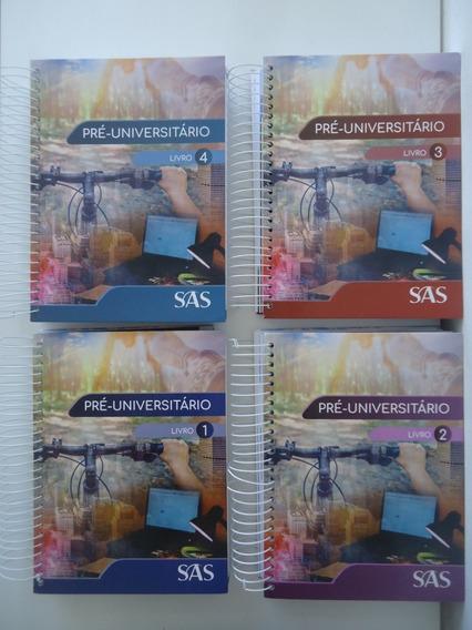 Pré-universitário Sas Livros 1 A 4 - Edição 2019