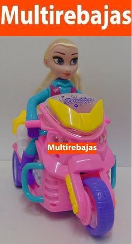 Juguete Musical Barbie En Moto