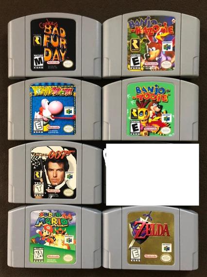 Lote Cartuchos Nintendo 64