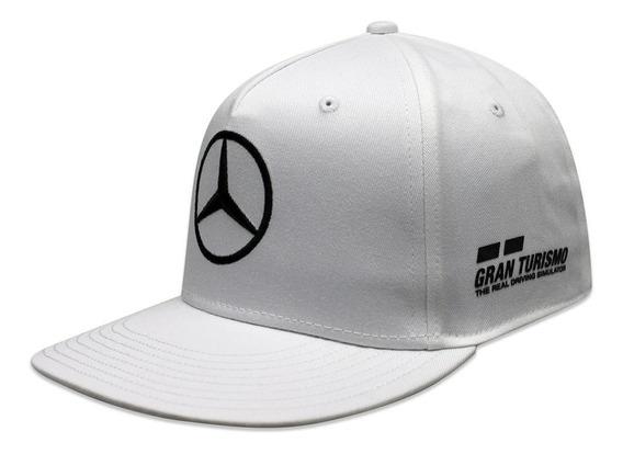 Gorra F1 Mercedes Benz Lewis Hamilton Gt Drivers Blanco