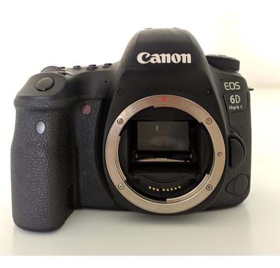 Câmera Canon 6d Mk2 (só Corpo) + Brindes - Usada