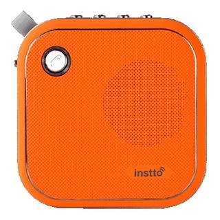 Parlante Bluetooth Portatil Instto Ingeo Aux Micro Sd Microf