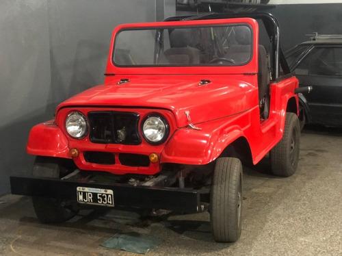 Jeep Ika Corto 4x2 Fibra - Motor Falcon 188