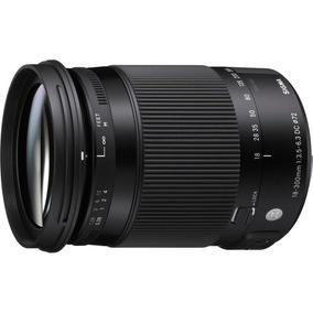 Lente Sigma 18-300mm F/3.5-6.3 Dc Macro Os Hsm Nikon/ Canon