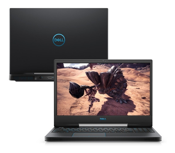 Notebook Gamer Dell G5-5590-a23p Ci7 8gb Hd+ssd Gtx 1660ti