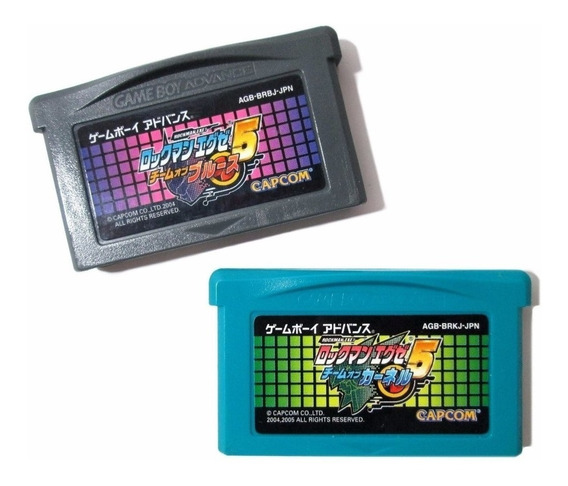 Mega Man Battle Network 5 Original Nintendo Game Boy Advance