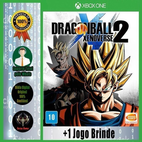 Imagem 1 de 4 de Dragon Ball Xenoverse 2 Xbox One Midia Digital +1 Jogo