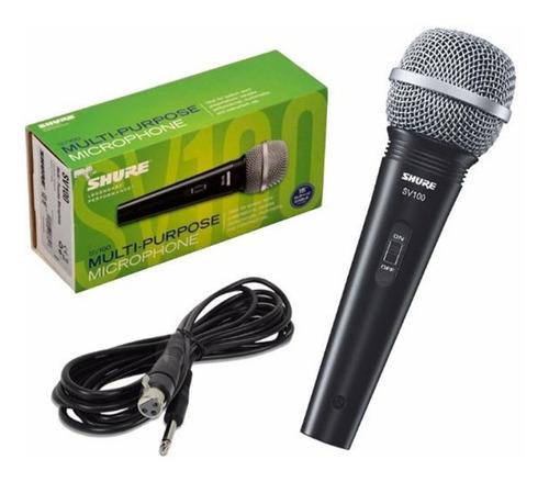 Microfono Shure Dinamico De Mano