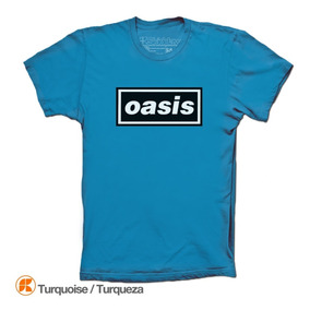 Oasis Playeras Classic Logo Skiddaw T-shirts Noel Liam