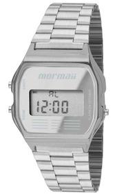 Relógio Mormaii Feminino Vintage Prateado Mojh02aa/3c